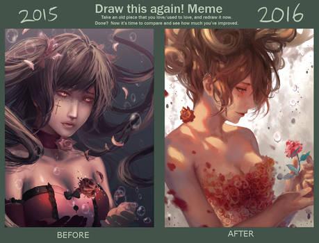 Draw Again Meme 2015-2016