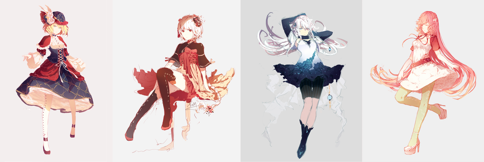Character Design Personality : Female character designs by pinlin on deviantart
