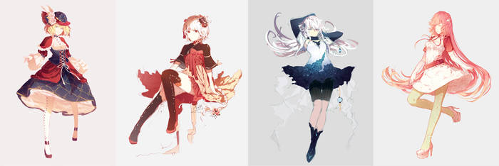 Female character designs