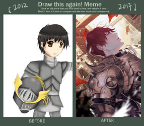 Improvement Meme 2012 - 2017 by Pinlin