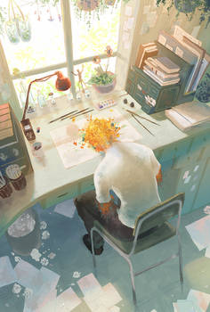 Blooming creativity