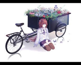 Flower cart by Pinlin