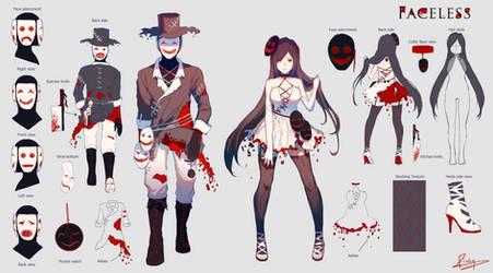 Costume Design - Faceless