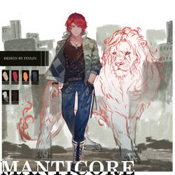 Old Ruins - Manticore