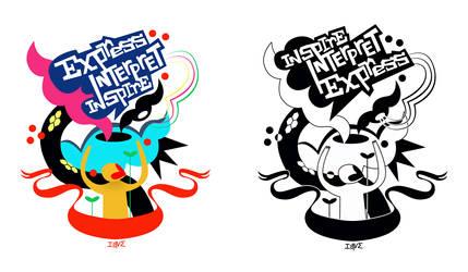 shirt design for bratpack by ziyus630