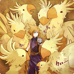 Cloud and Chocobo