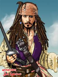 captain jack sparrow by ashkan-bboy