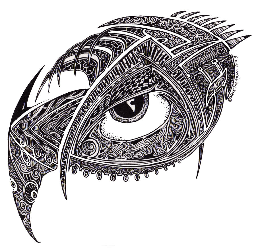 Eye Art Design : Eye design by mk thommo on deviantart