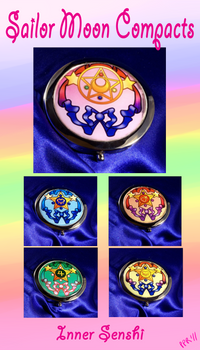 Sailor Moon Compacts- Inners