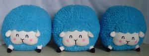 Cotton Candy Sheep Plush! _Blue