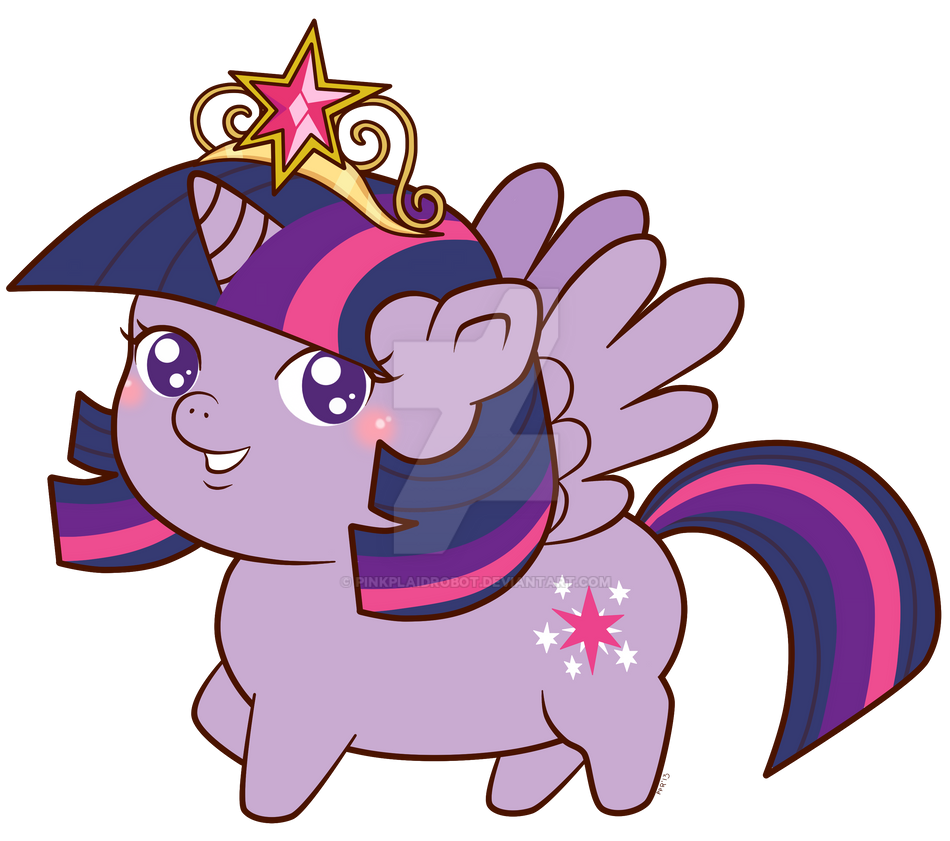 Twilight Sparkle _Chibi Charm Design by pinkplaidrobot
