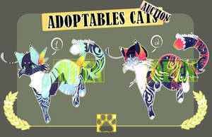 Adoptables Kittens [#11] | Auction | OPEN by BambooSpllash