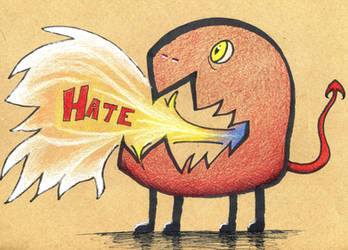 Hate Monster by Watyrfall