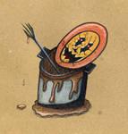 Dirty Dish Monster by Watyrfall