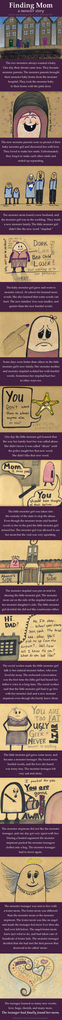 Finding Mom - a monster story