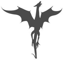 Vector Dragon Silhouette