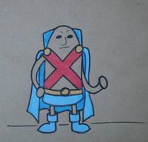 Gumdrop Superhero: Martian Man Hunter by Watyrfall