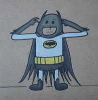 Gumdrop Superhero: Batman (Bat-tusi) by Watyrfall