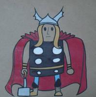Gumdrop Superhero: Thor by Watyrfall