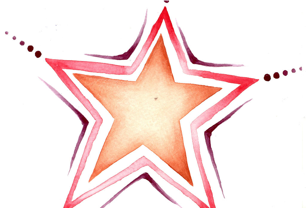 Water Color Star01