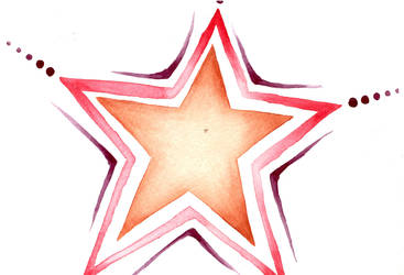 Water Color Star01 by Watyrfall