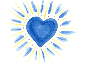 Water Color Heart05 by Watyrfall