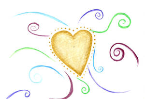 Water Color Heart06