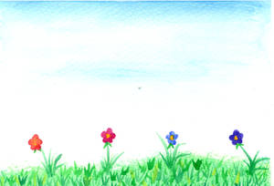 Water Color Flower01