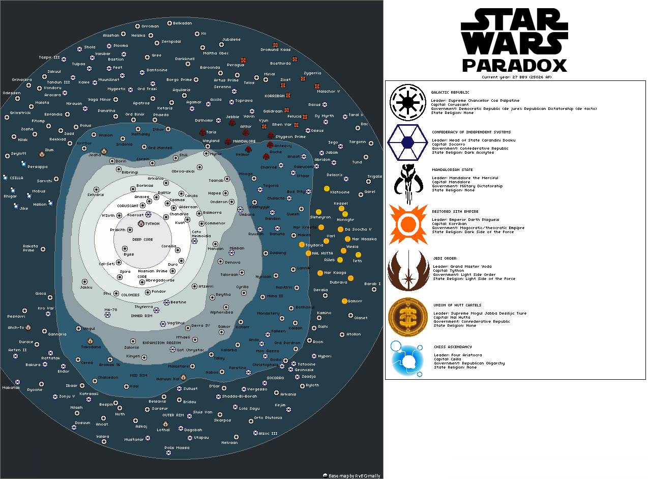 Star Wars: Paradox (27 BBY)