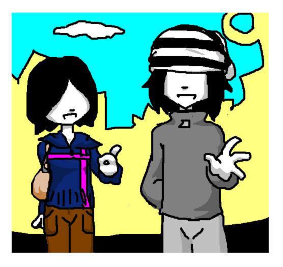 With Vinnie by mayadb