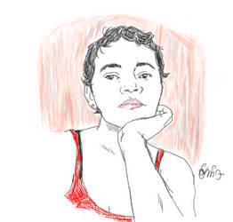 Quilvia portrait