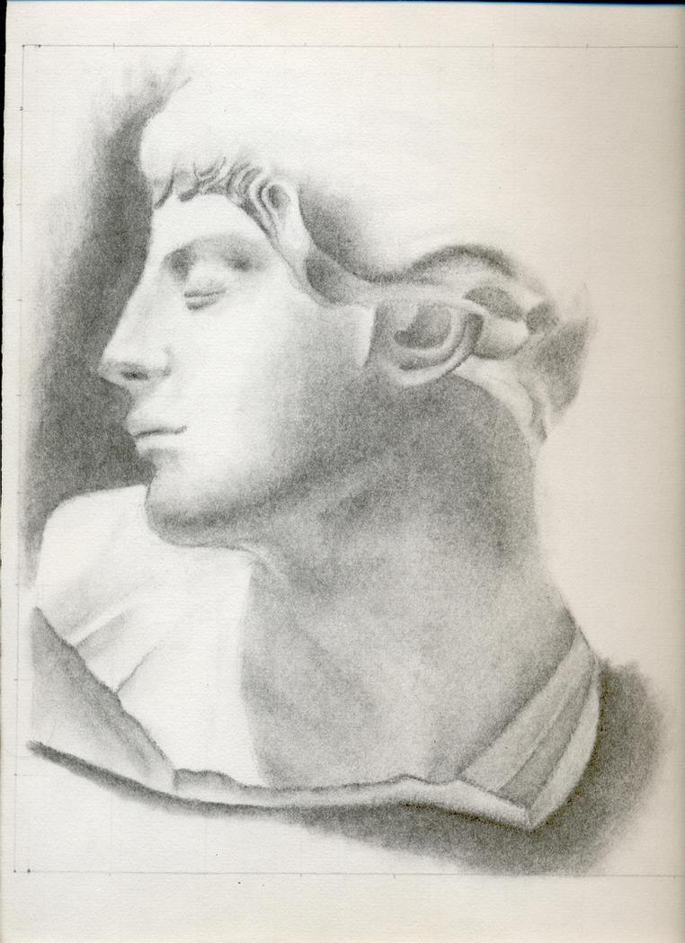 Dibujo a carboncillo by Franchu