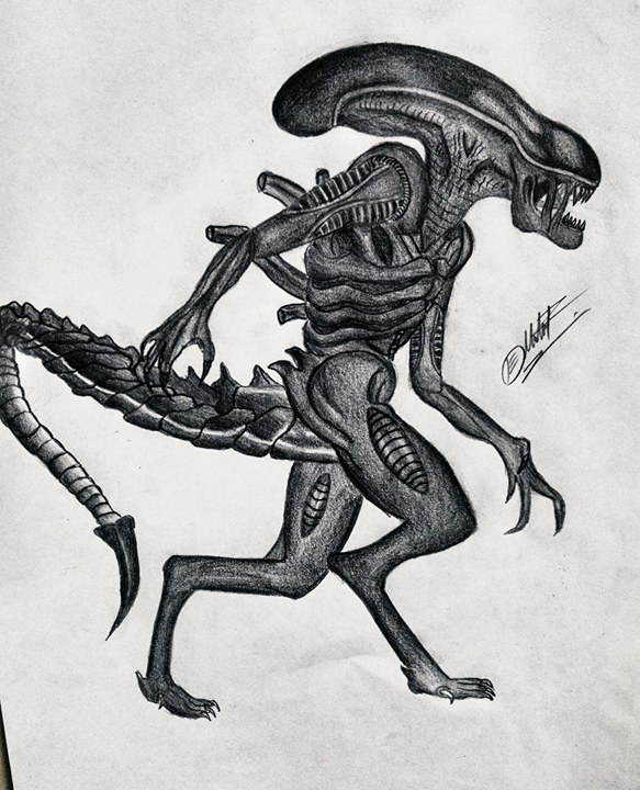 Alien by DiegoCarmine118