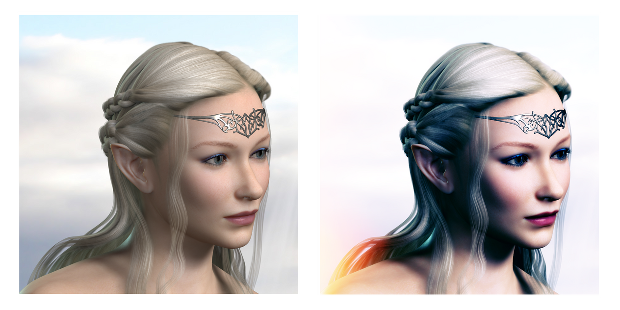 Galadriel Head Study By Ambient Vibe On DeviantArt