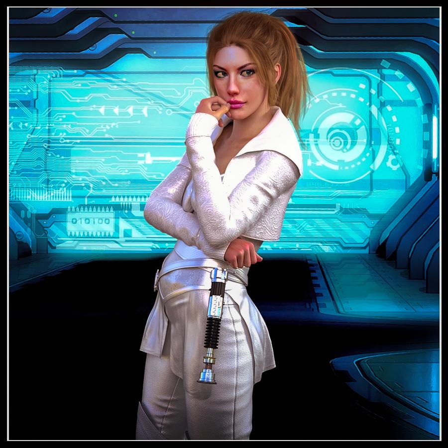 Callista T'Jarell, Jedi Knight by Ambient-Vibe