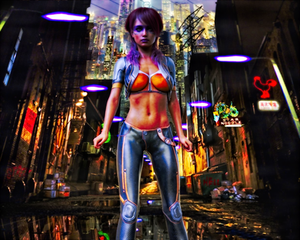 Character Design: 'V' [Cyberpunk 2077]