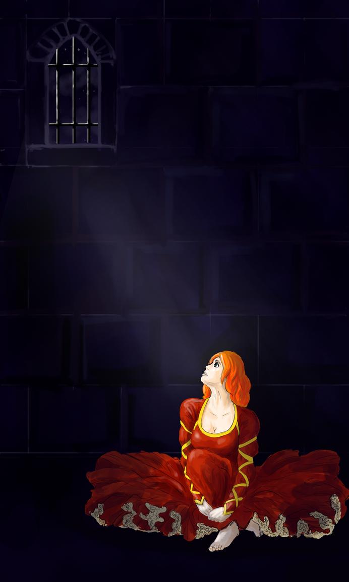 Captive Princess by gilrean-vardamir