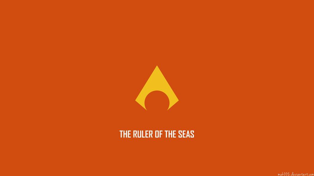 Aquaman Logo Aquaman minimalistic wallpaper