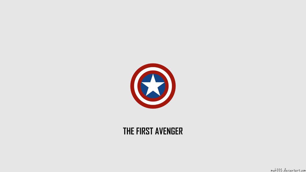 Captain America Minimalistic Wallpaper By Mak002