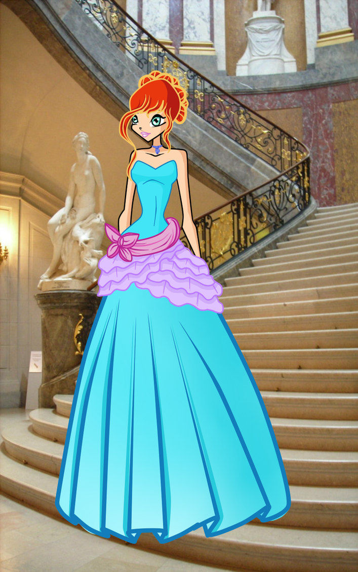 WINX:COM-Bloom ball gown by caboulla