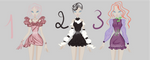 adoptable dresses 3 by caboulla