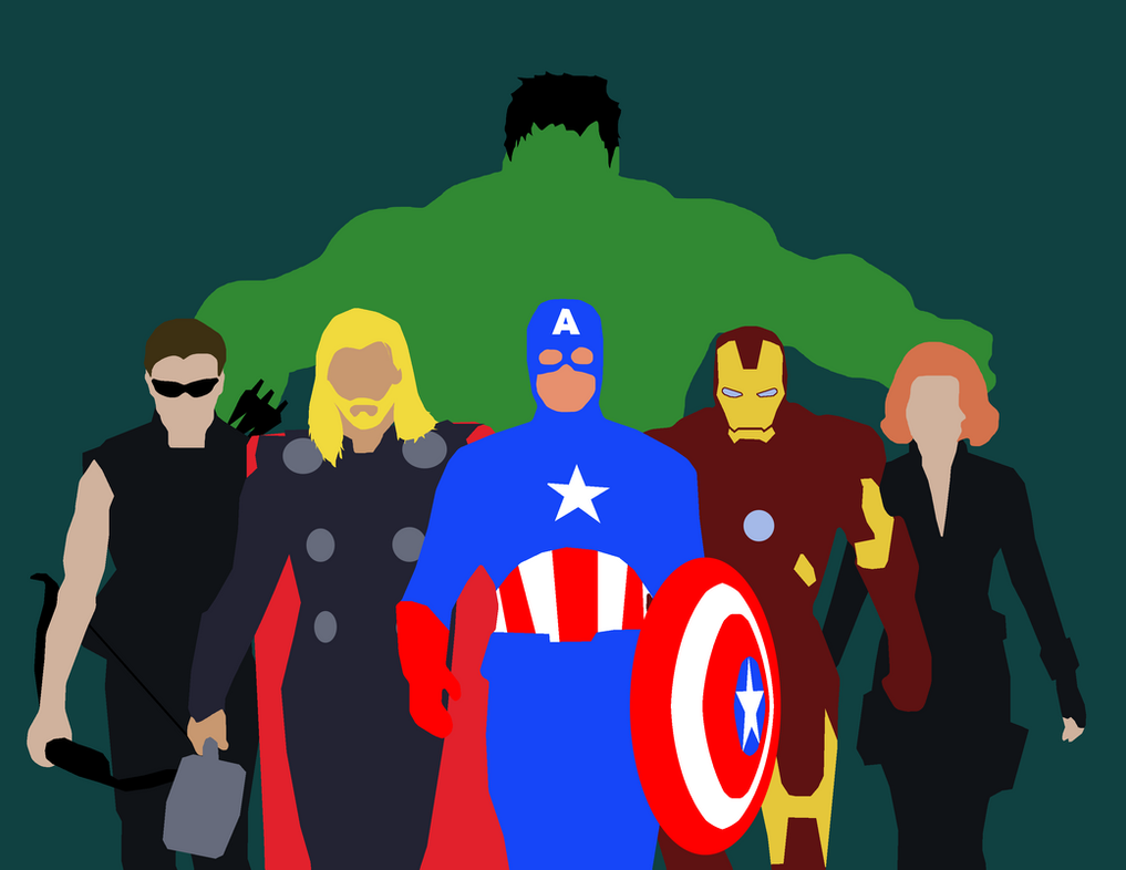 Cool Wallpaper Marvel Minimalistic - minimalist_marvel__the_avengers_by_maclimeszero-d7dxdpv  Pic_31434.png