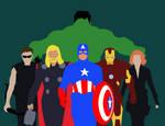 Minimalist Marvel: The Avengers