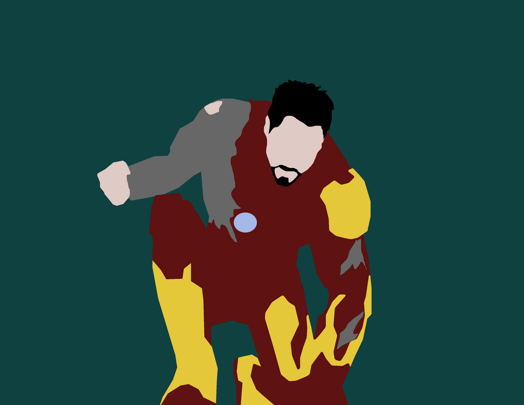 Wonderful Wallpaper Mac Iron Man - minimalist_marvel__iron_man_3_by_maclimeszero-d7dxdxn  Best Photo Reference_962780.png