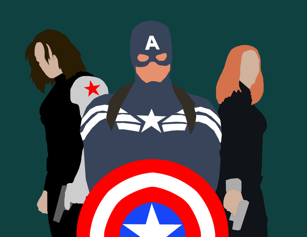Beautiful Wallpaper Marvel Winter Soldier - minimalist_marvel__captain_america__winter_soldier_by_maclimeszero-d7dxe3d  Best Photo Reference_24348.png