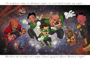 Lanterns ComicCon Print by a-archer