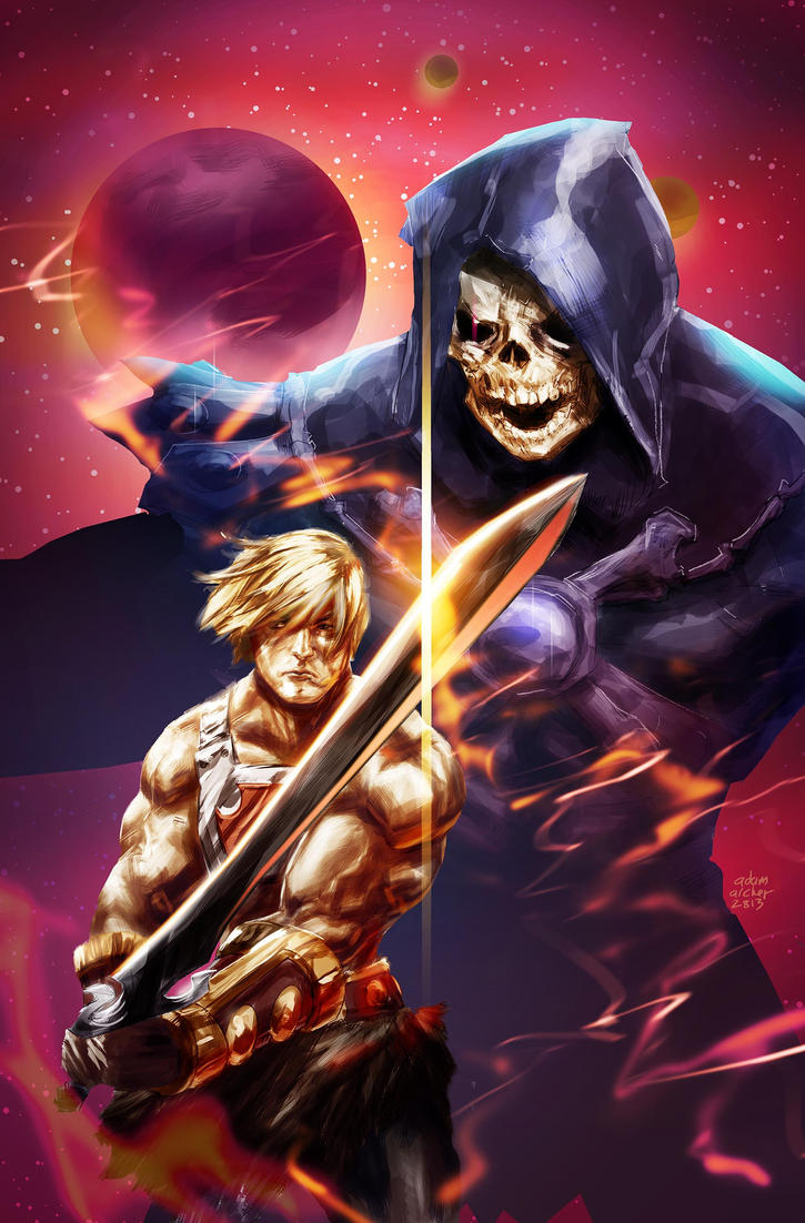 He Man fan art by a-archer