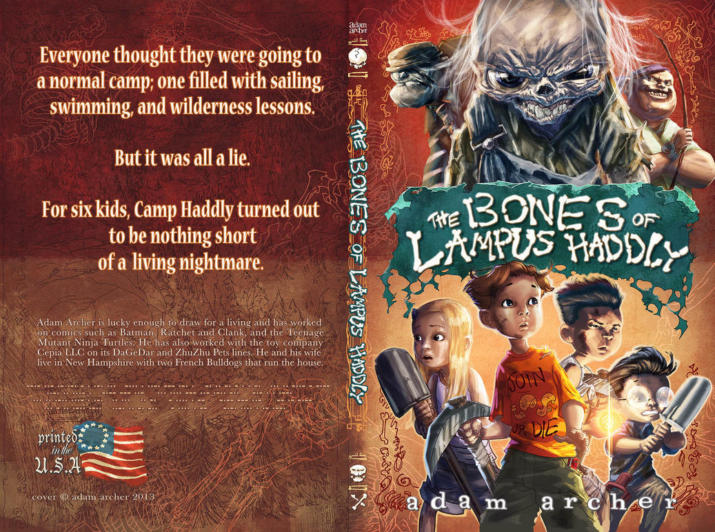 The Bones of Lampus Haddly by a-archer