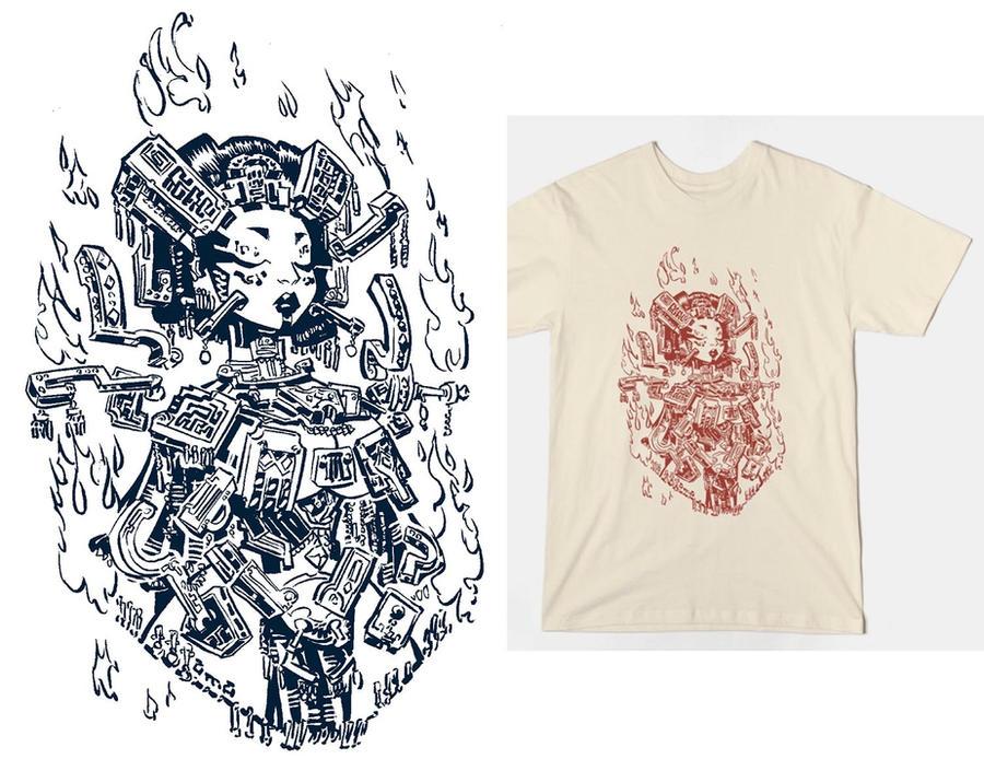 shirt design, queen of... by a-archer