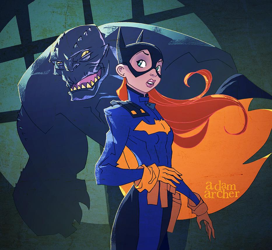 Batgirl by a-archer